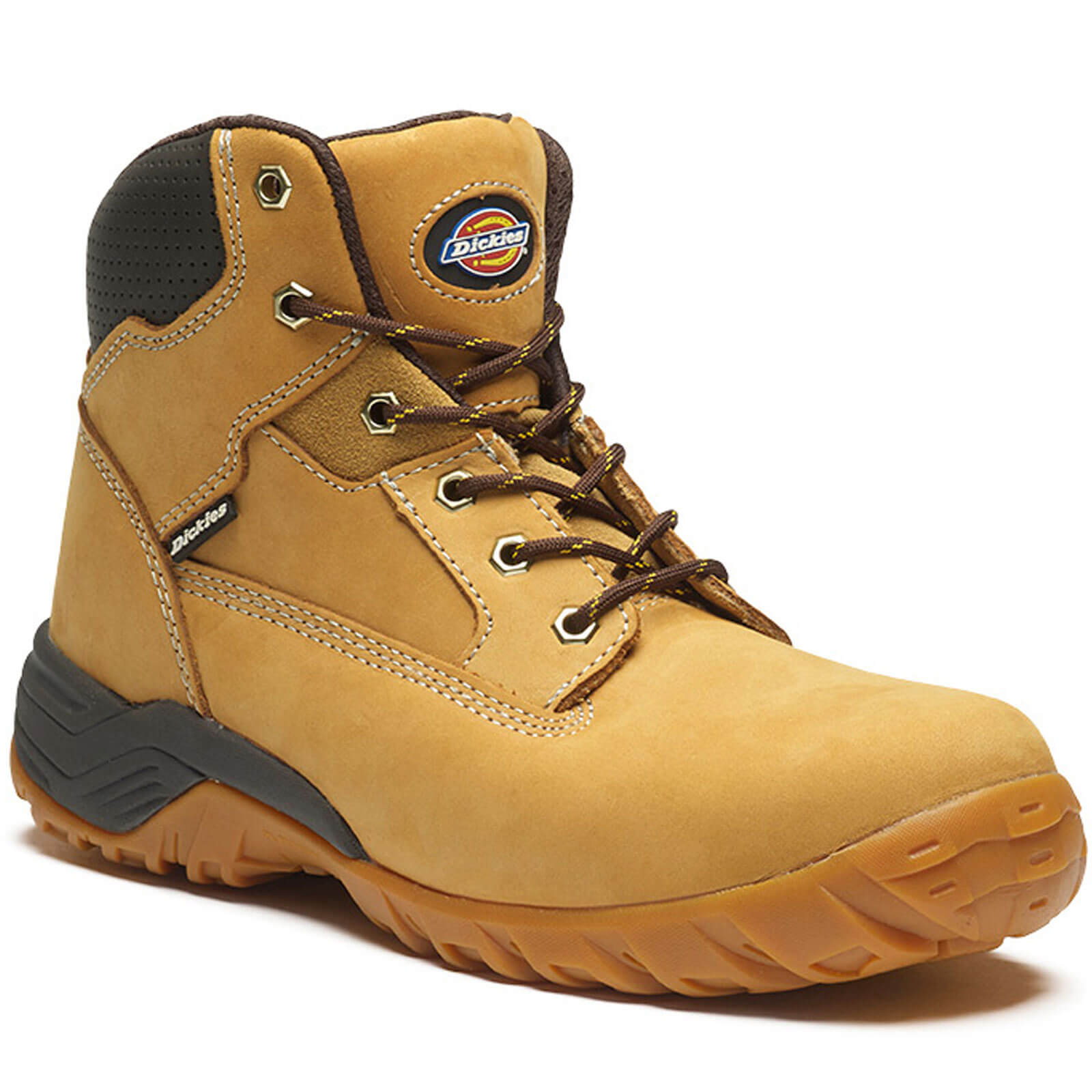 Dickies Mens Graton Safety Boots Honey Size 11