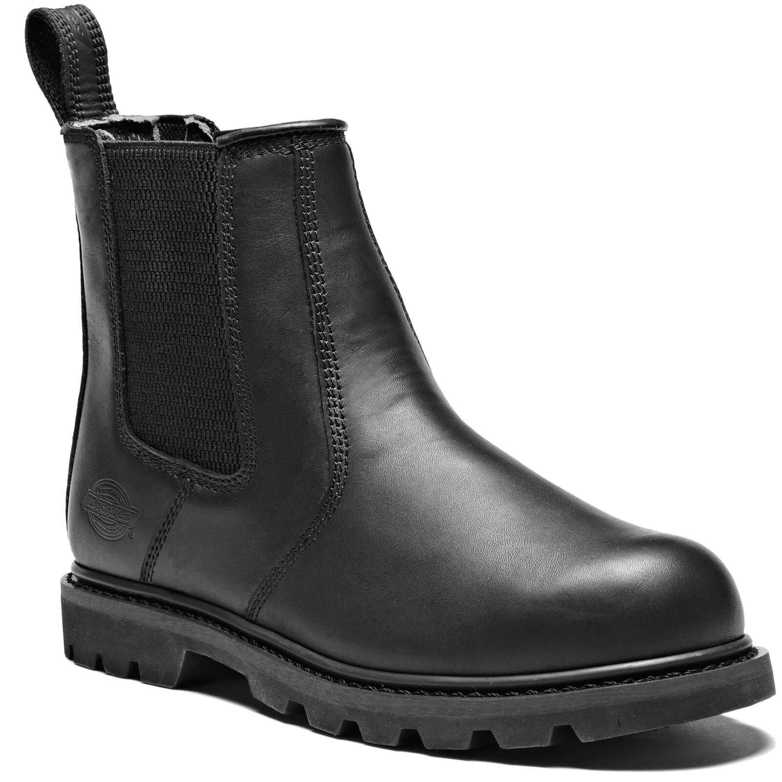 Dickies Mens Fife II Dealer Safety Boots Black Size 5.5