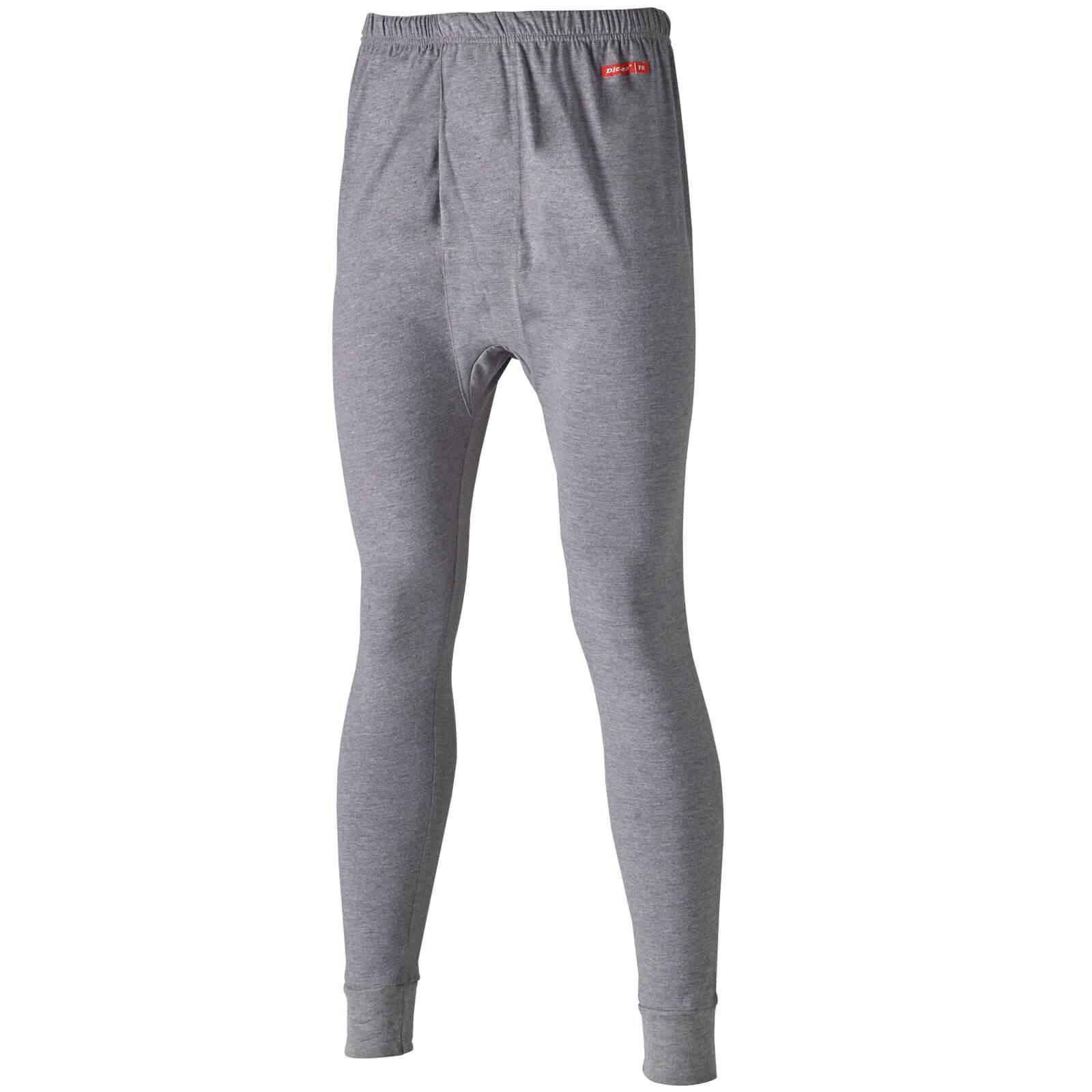 Dickies Mens Modacrylic Long Johns Grey L