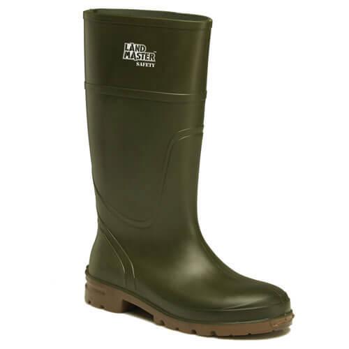 Dickies Landmaster Safety Wellington Boots Green