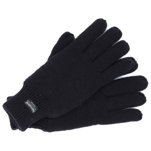 Image of Dickies Thermal Insulated Gloves Black One Size