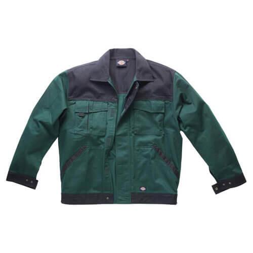Dickies Mens Industry 300 Two Tone Jacket Green / Black XL