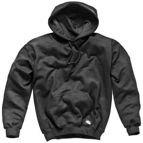 Dickies Mens Hooded Sweatshirt Black 2XL