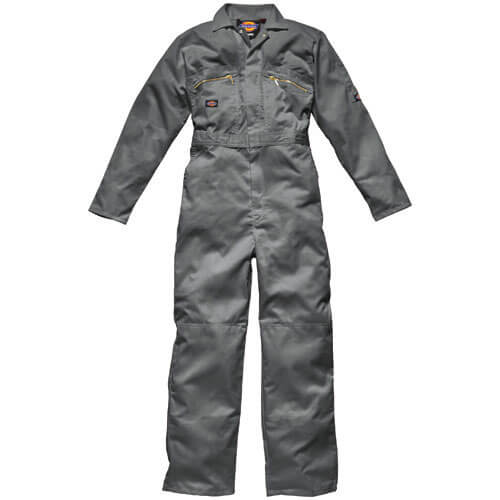 Dickies WD4839 Redhawk Zip Front Coverall - Grey 50T