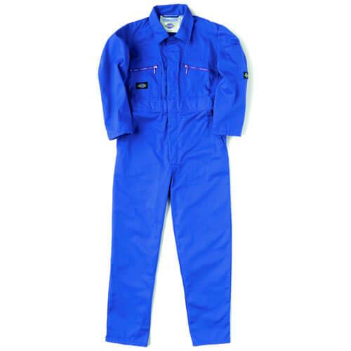 Dickies Junior Redhawk Overalls Royal Blue 34