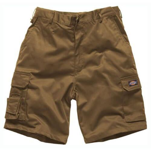 Dickies Mens Redhawk Cargo Shorts Khaki 34