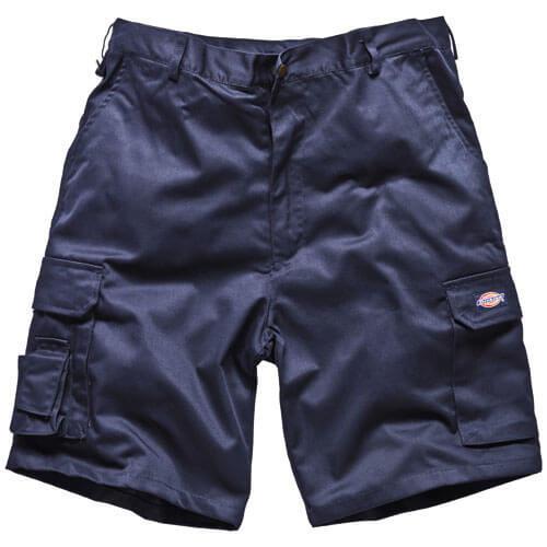 Dickies Mens Redhawk Cargo Shorts Navy 32