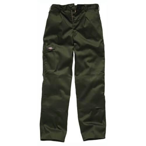Dickies Mens Redhawk Super Trousers Olive Green 42