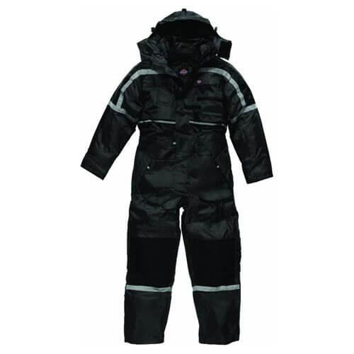 Image of Dickies Waterproof Padded Overall Black XL