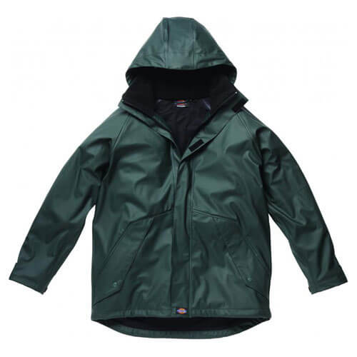 Dickies Mens Raintite Jacket Green M