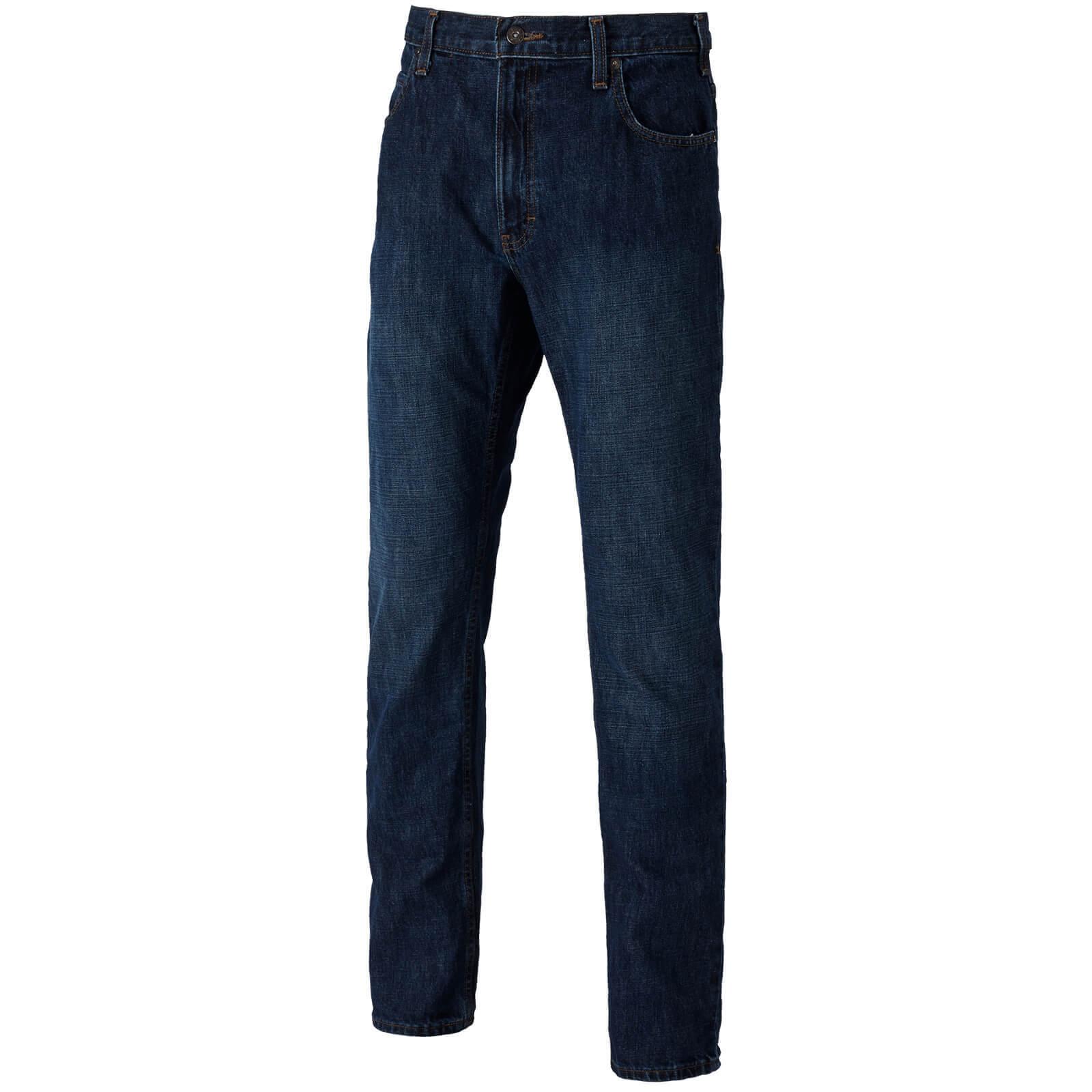 Dickies Mens X Series Jeans Medium Indigo 40