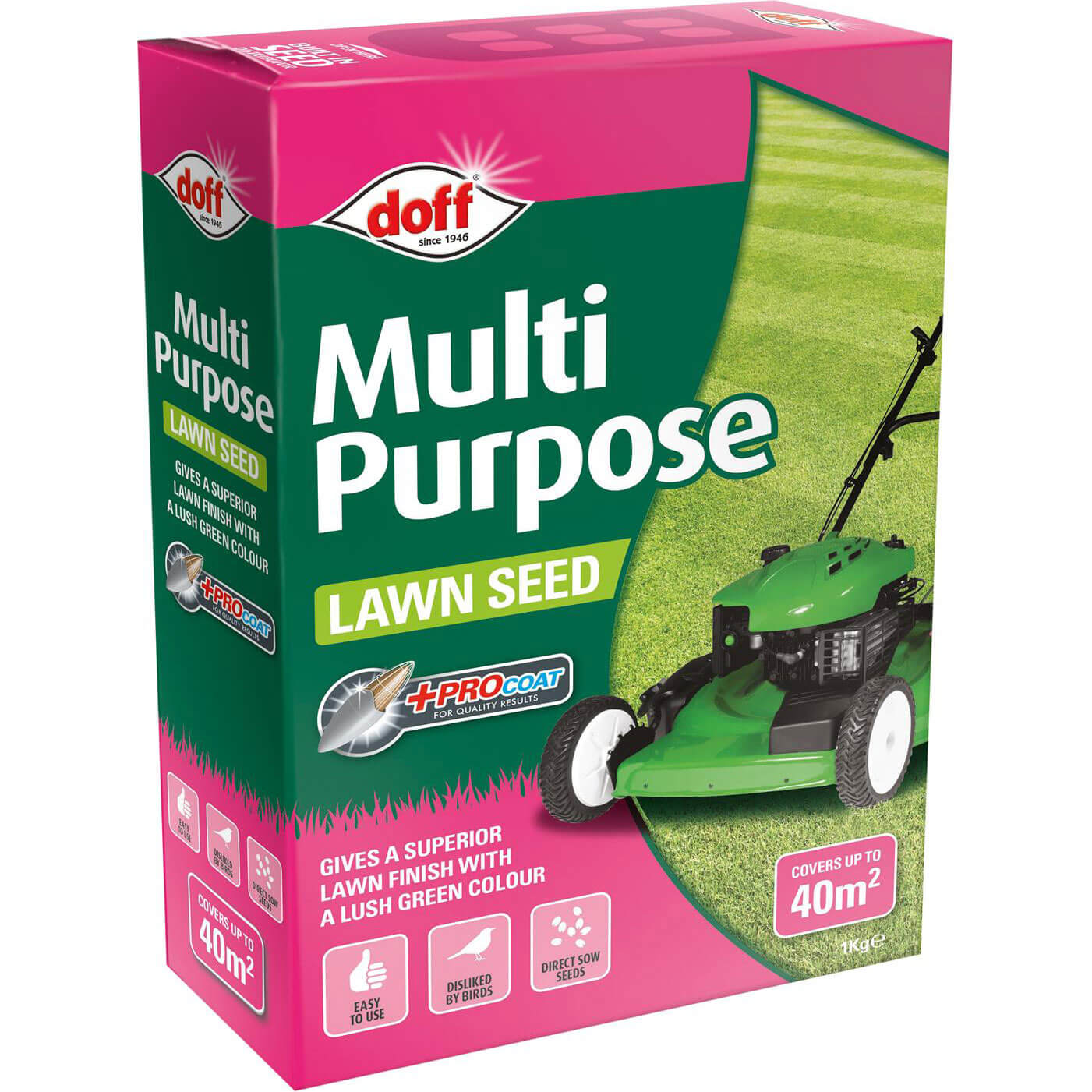 Image of Doff Multi Purpose Lawn Seed 1kg