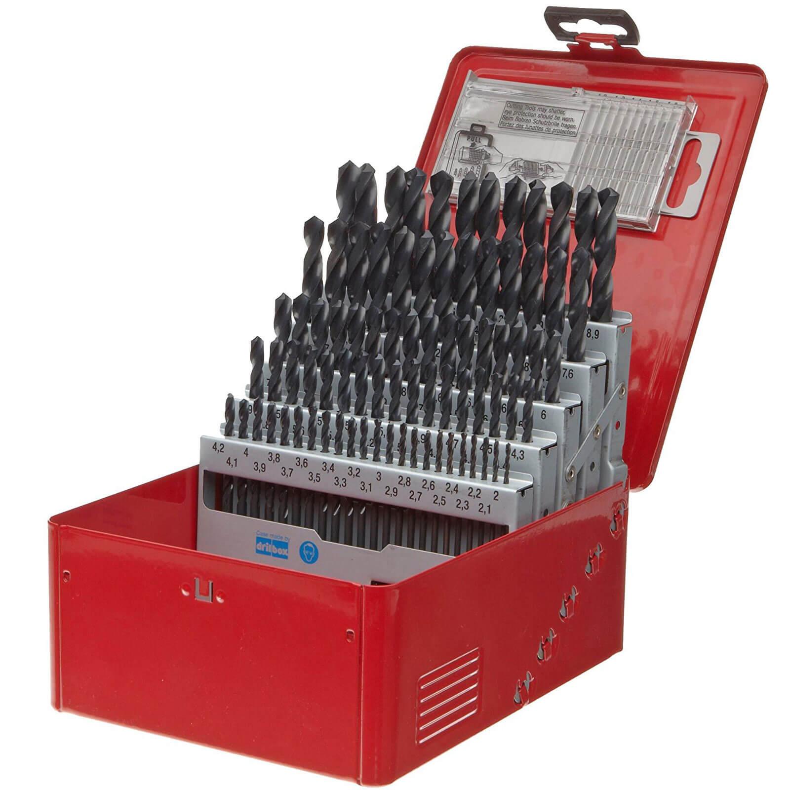 Image of Dormer A190-209 91 Piece HSS Jobber Drill Bit Set
