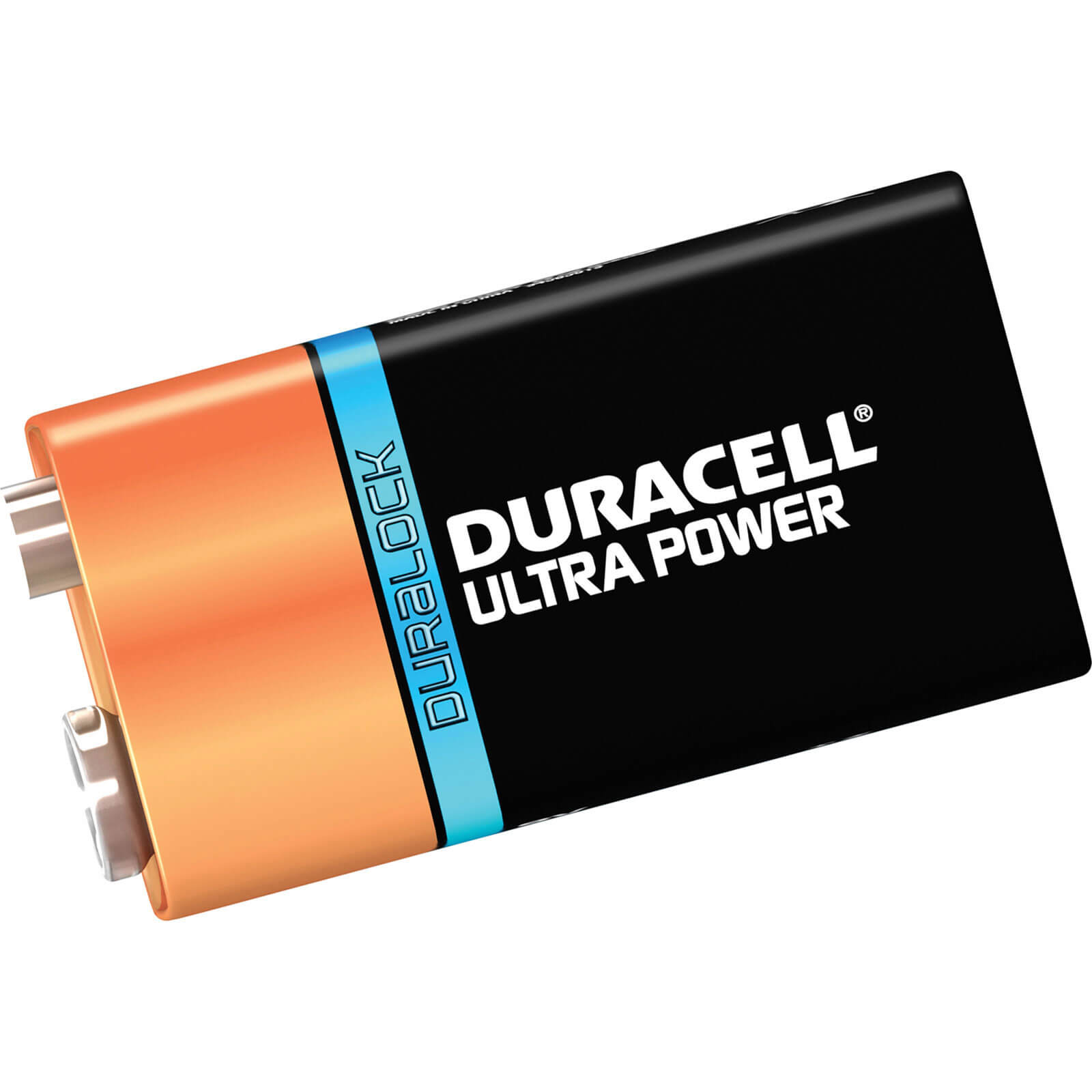 Image of Duracell 9v Ultra Power Battery Pack of 1