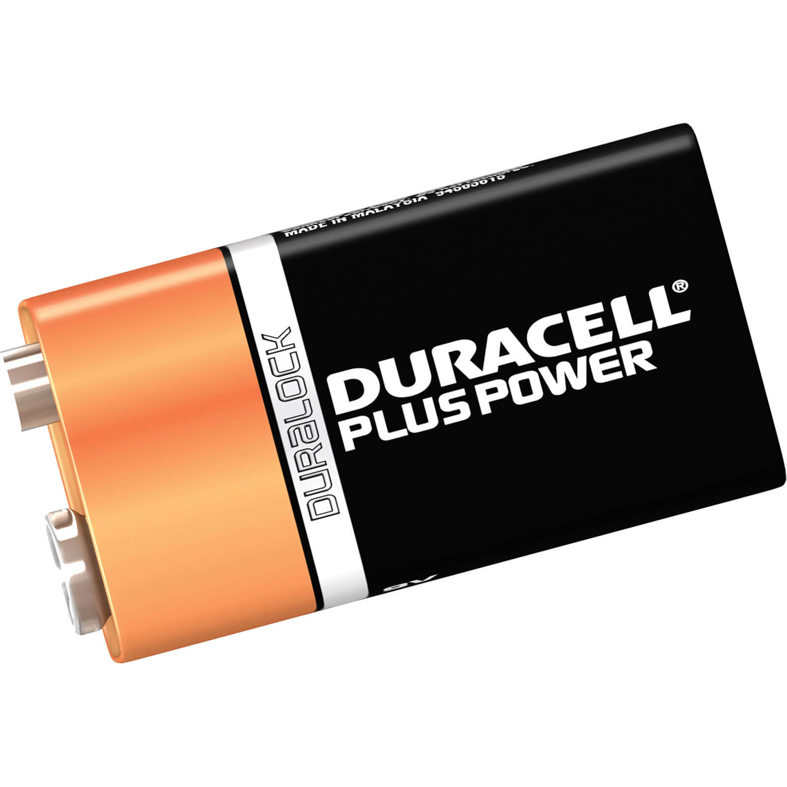 Image of Duracell 9v Plus Power Battery Pack of 2