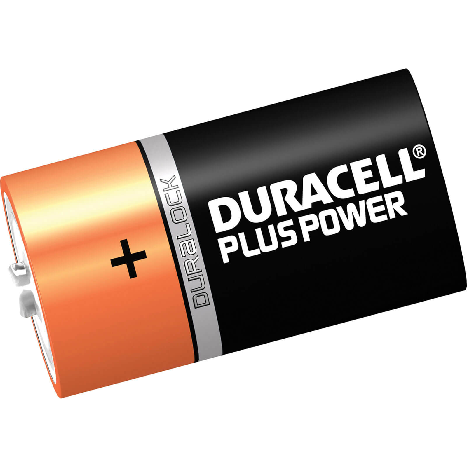 Image of Duracell D Cell Plus Power Battery Pack of 2