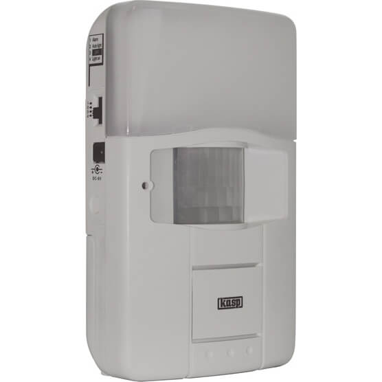 Image of Kasp Wireless 3 in 1 PIR Alarm & Light