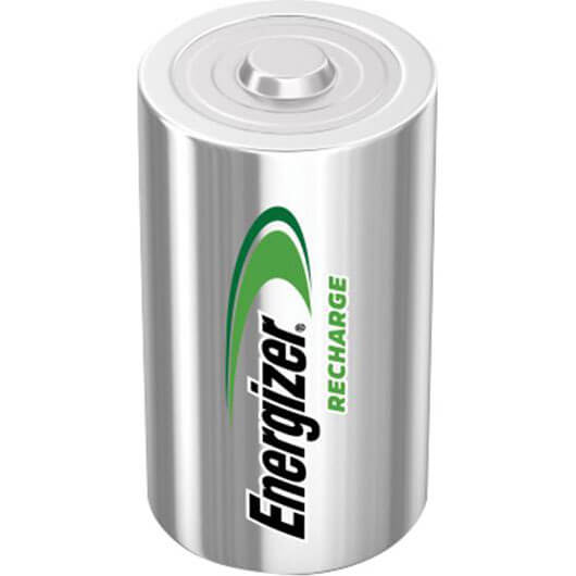 Image of Energizer C Cell Rechargeable Batteries Pack of 2