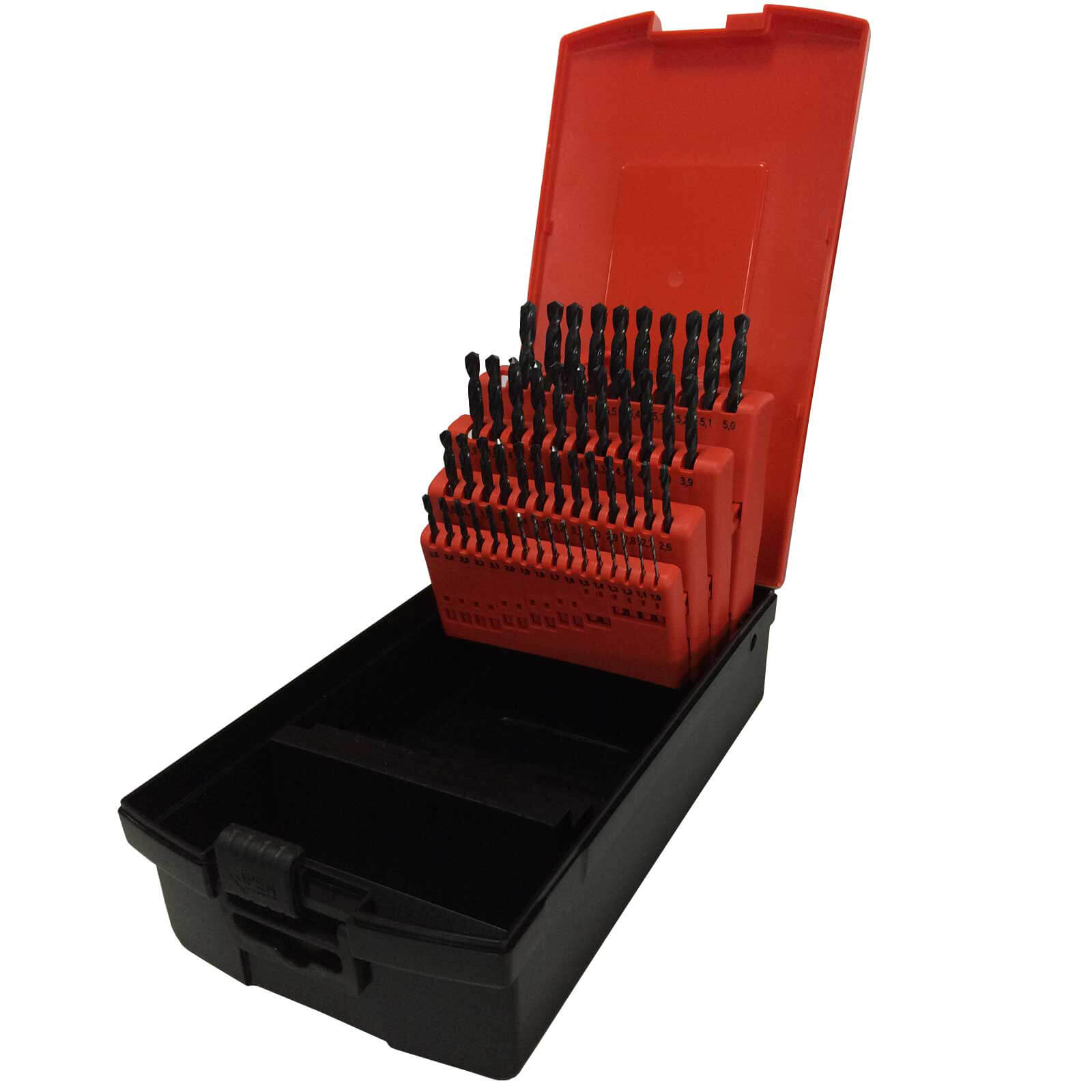 Image of Osborn 50 Piece HSS 1.0 - 5.9mm By 0.1mm Drill Set