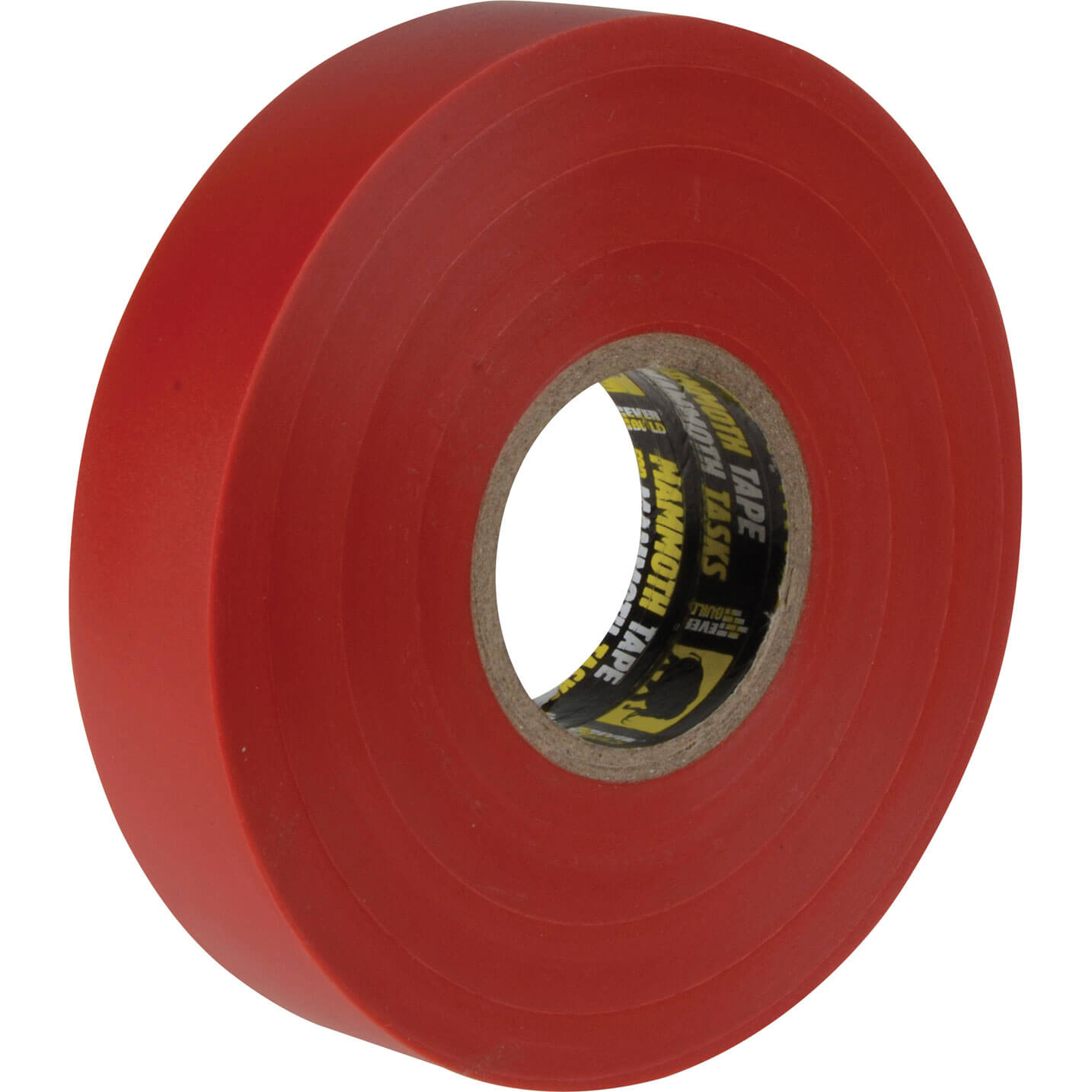 Image of Everbuild Electrical Insulation Tape Red 19mm 33m