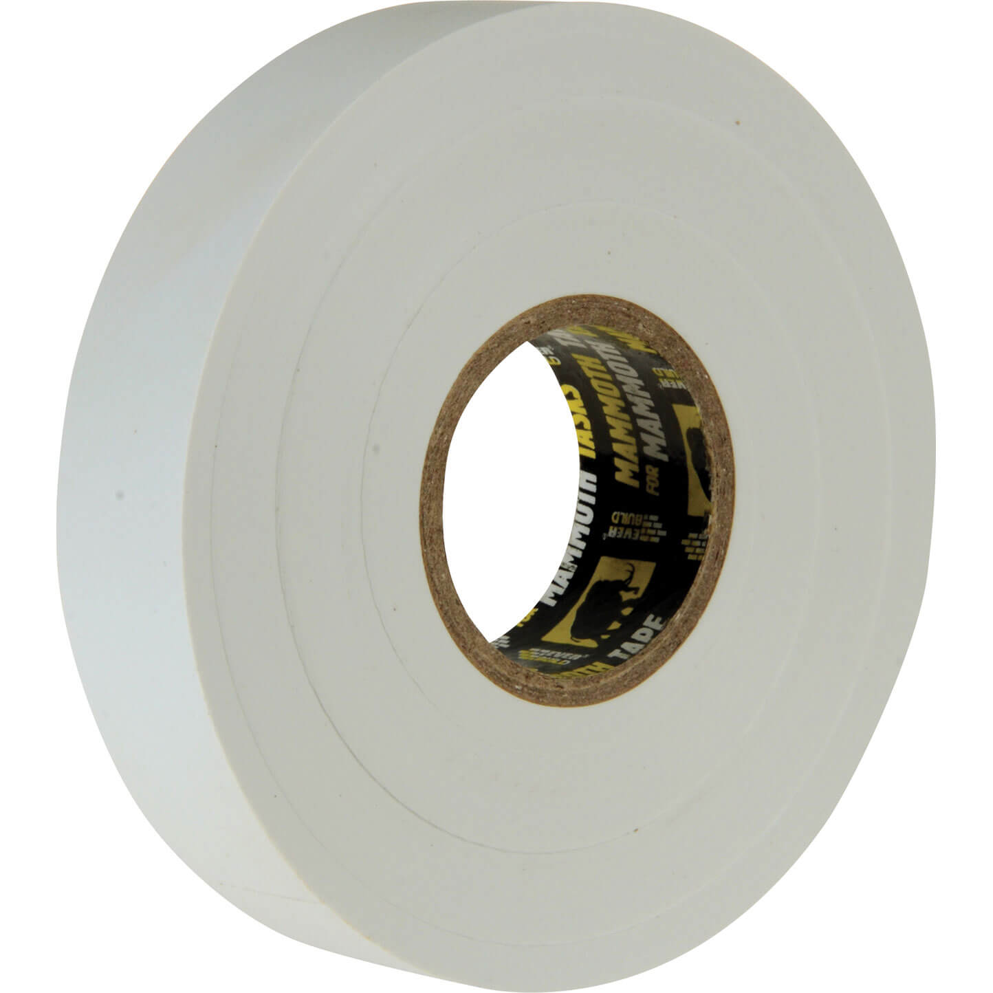 Image of Everbuild Electrical Insulation Tape White 19mm 33m