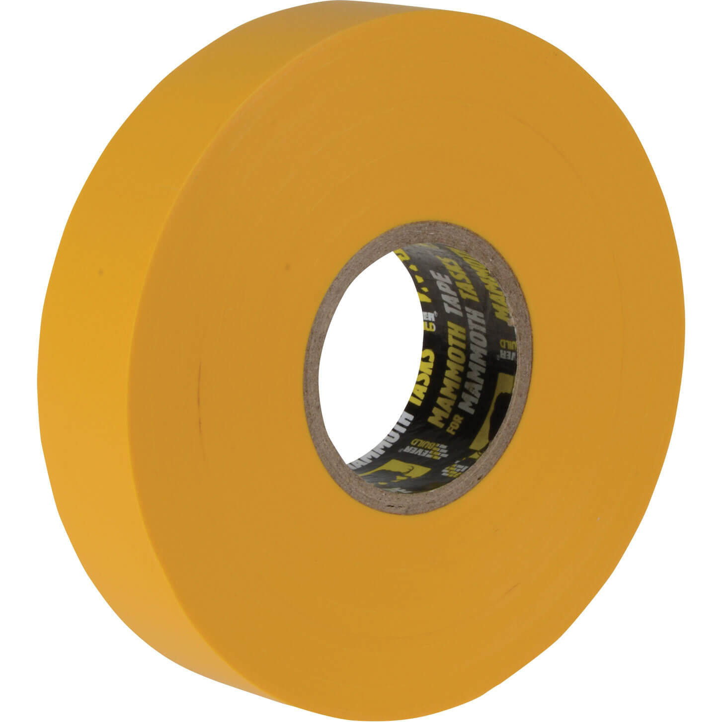 Image of Everbuild Electrical Insulation Tape Yellow 19mm 33m