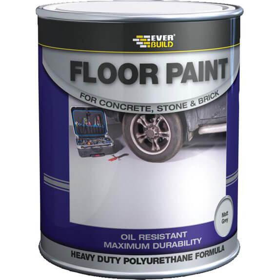 Image of Everbuild Floor Paint Grey 5l