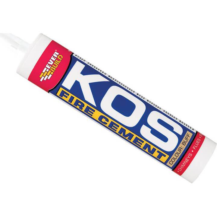 Everbuild KOS Flue Cement C3 Cartridge 300ml
