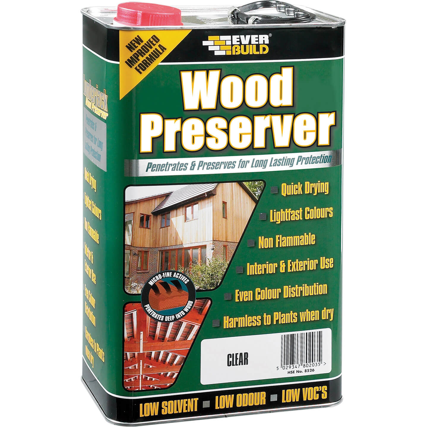 Cuprinol wood preserver clear 25 litre Cuprinol exterior wood preserver clear