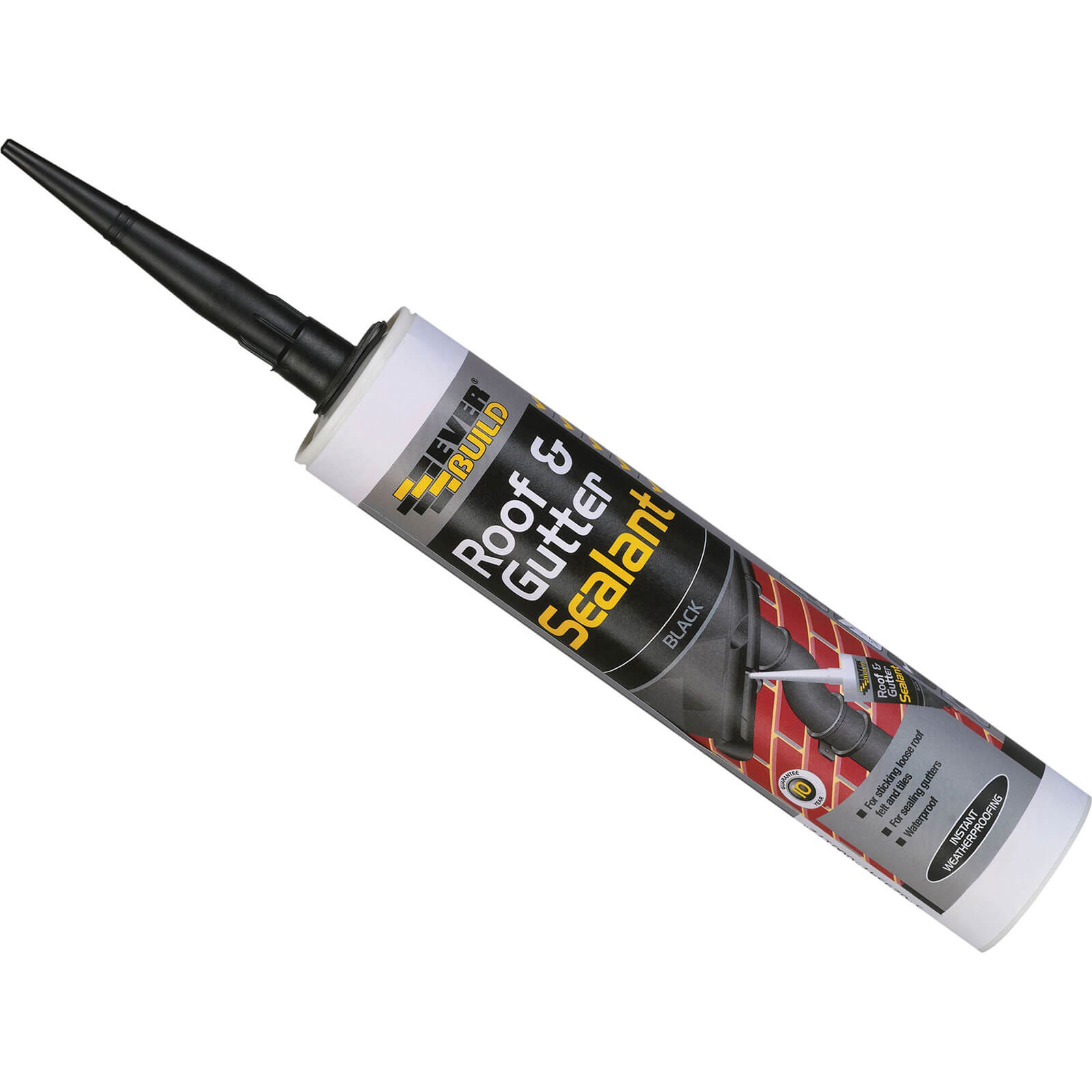 Everbuild Roof and Gutter Sealant Black 310ml