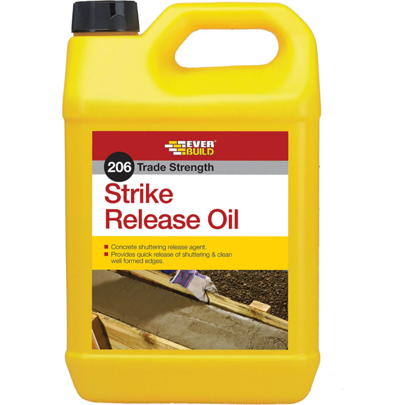 Image of Everbuild 206 Trade Strength Strike Release Oil 5L