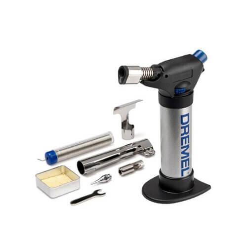 Image of Dremel Versaflame Gas Blow Torch 7 Accessory Kit
