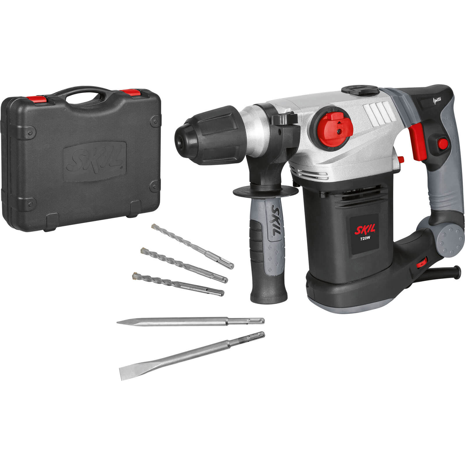 Image of Skil 1035AL SDS Plus Rotary Hammer Drill & Bit Set 240v