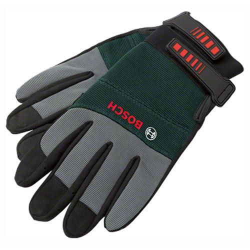 Bosch Garden Gloves Grey / Green L