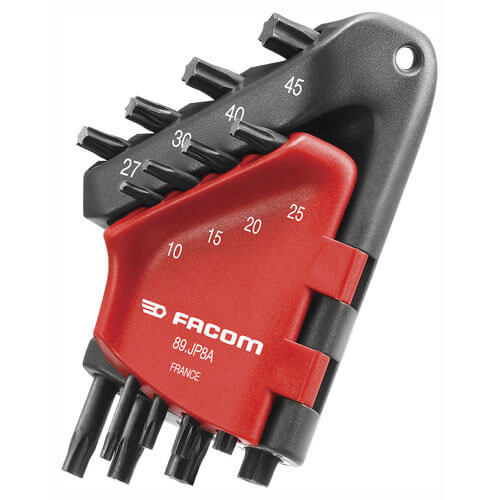 Click to view product details and reviews for Facom 8 Piece Torx Key Set.