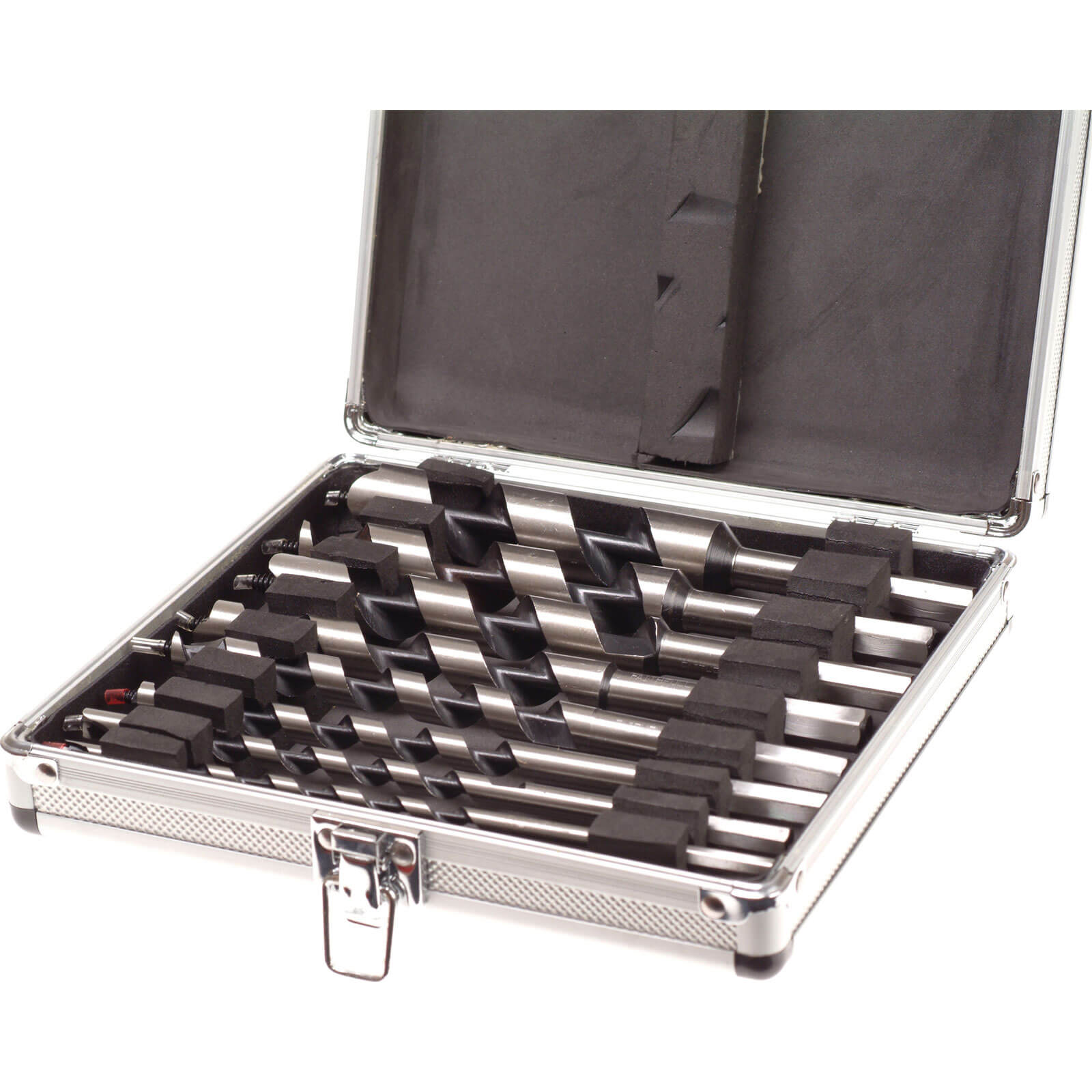 Image of Faithfull 8 Piece Combination Auger Drill Bit Set