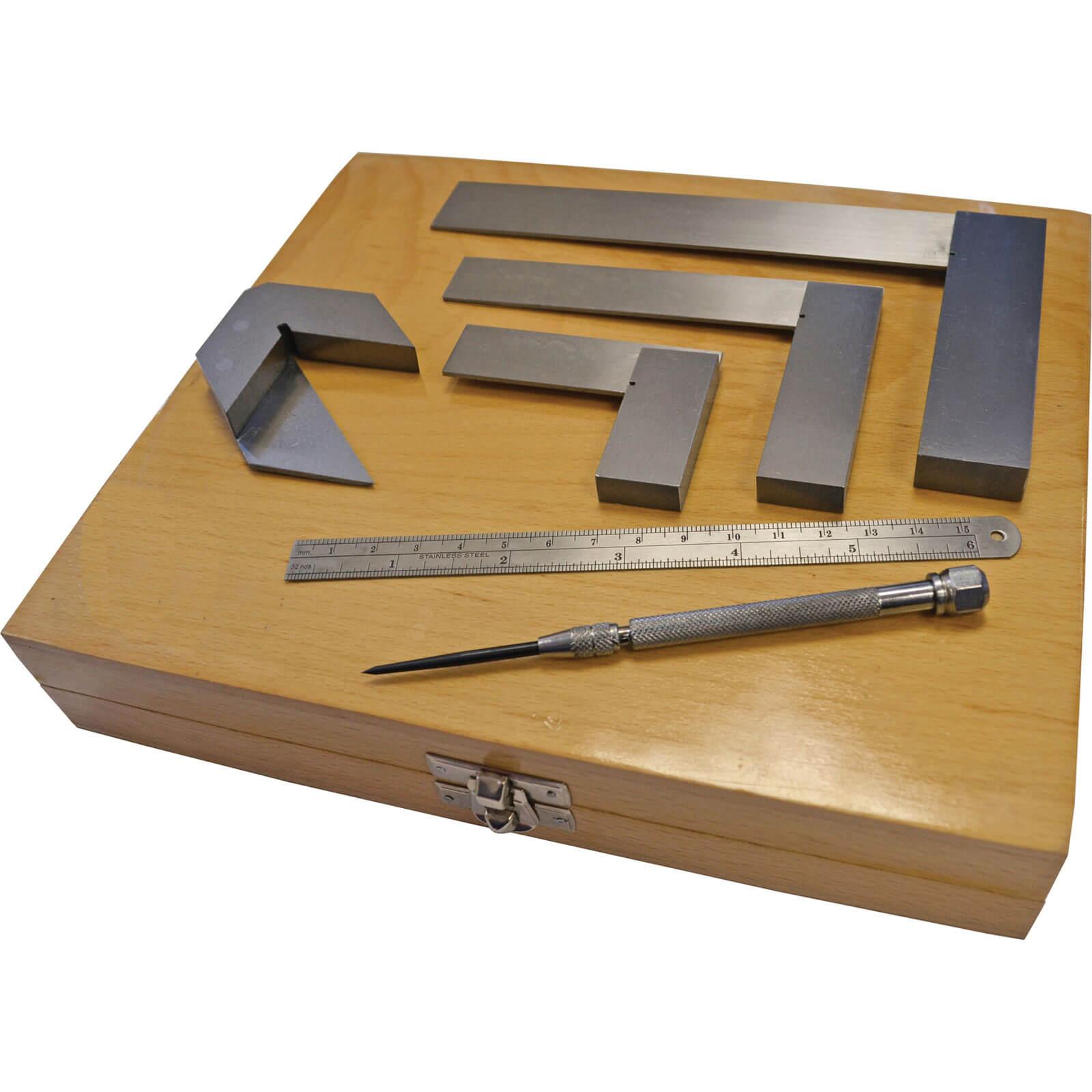 Image of Faithfull 6 Piece Engineers Marking & Measuring Set