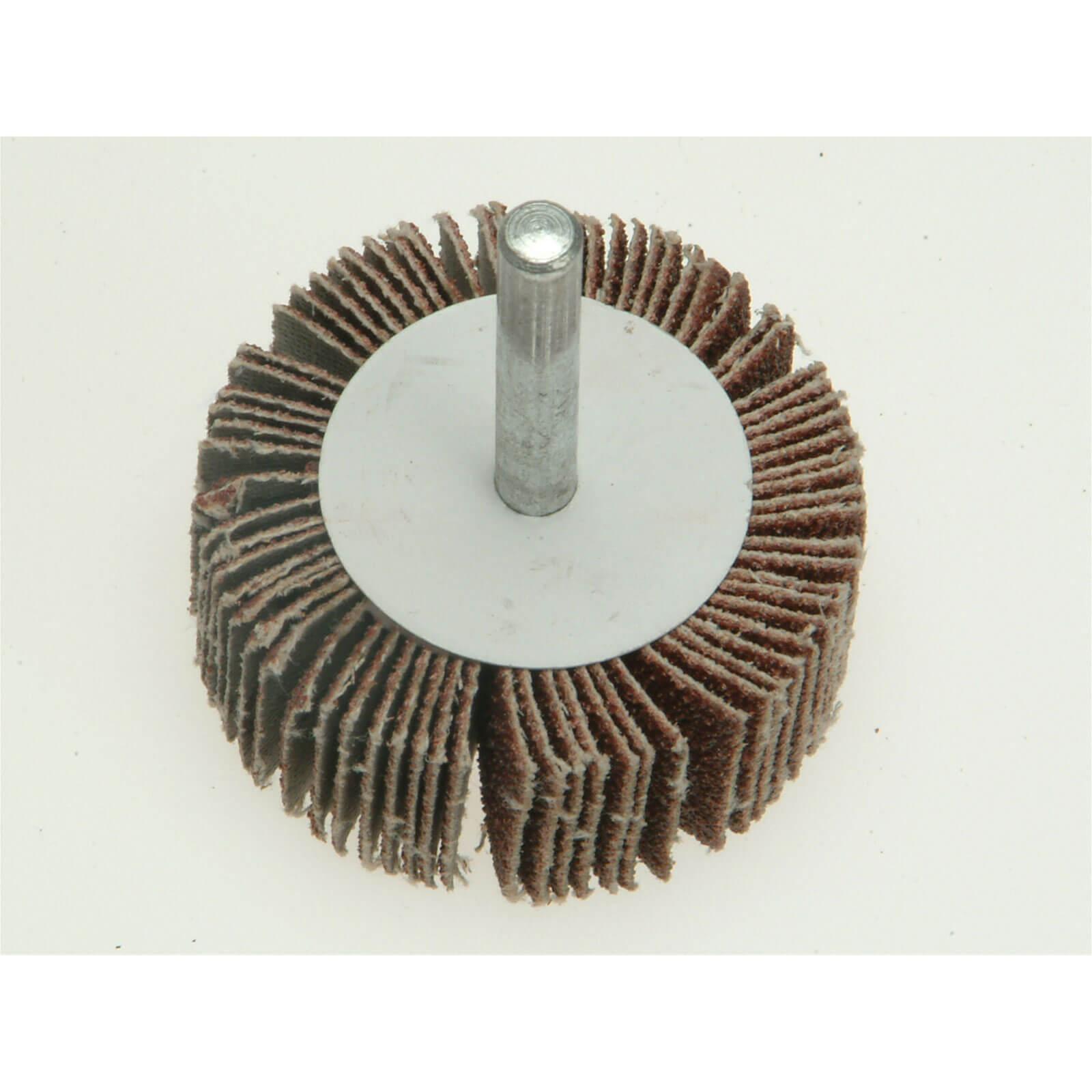 Image of Faithfull Abrasive Flap Wheel 50mm 20mm 100g