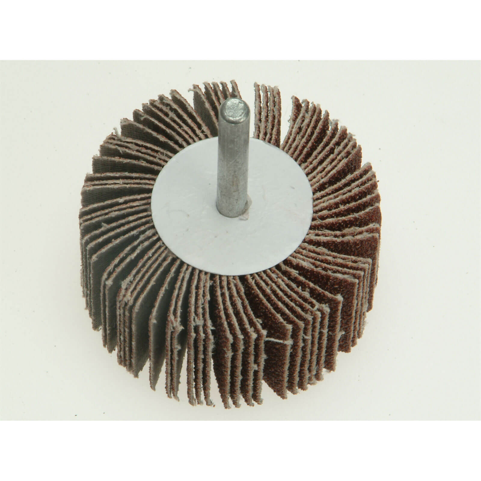 Image of Faithfull Abrasive Flap Wheel 60mm 30mm 100g
