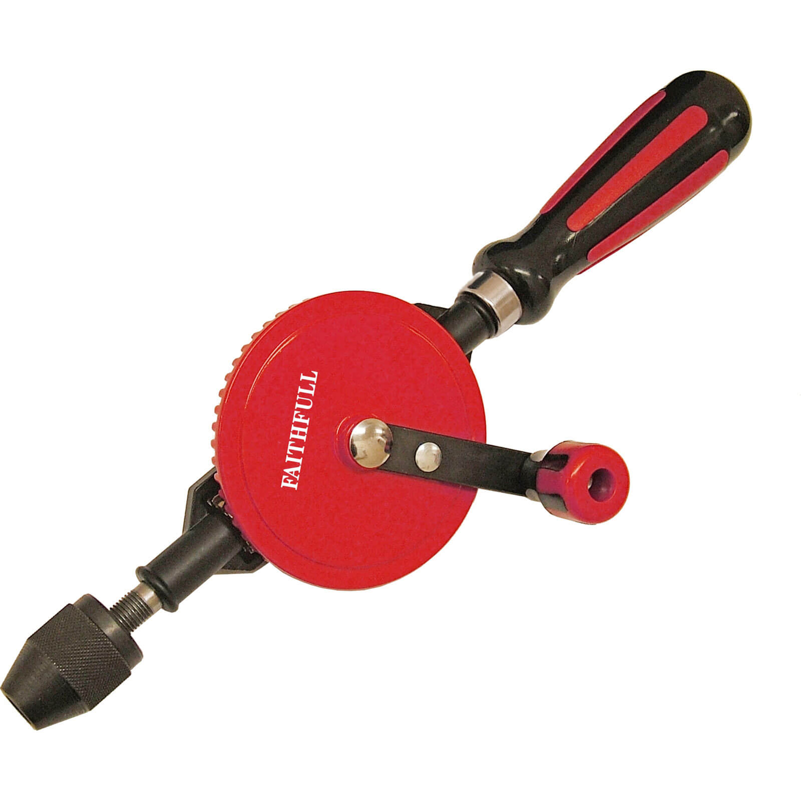 Image of Faithfull Double Pinion Hand Drill
