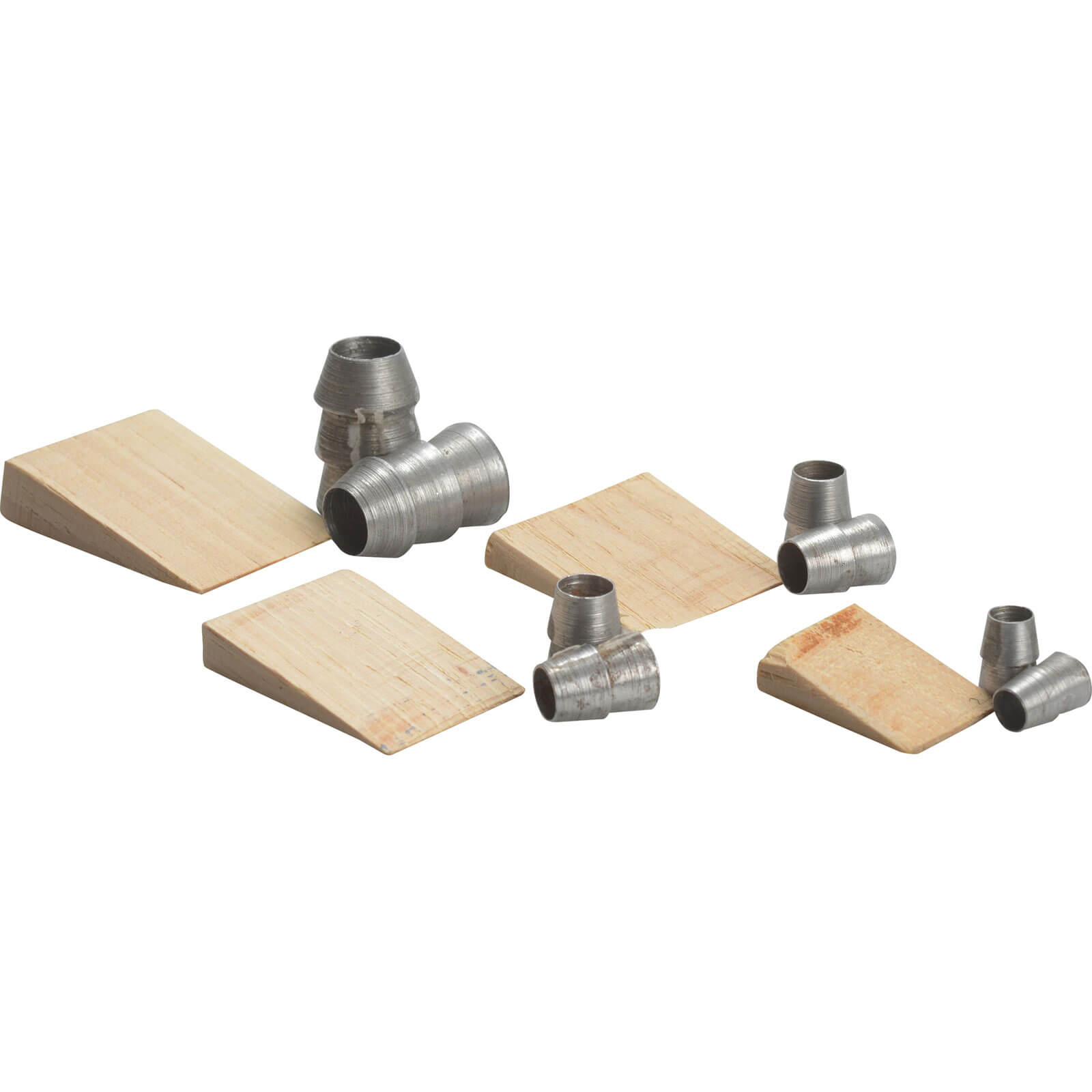 Image of Faithfull Assorted Hammer Wedges Pack of 12