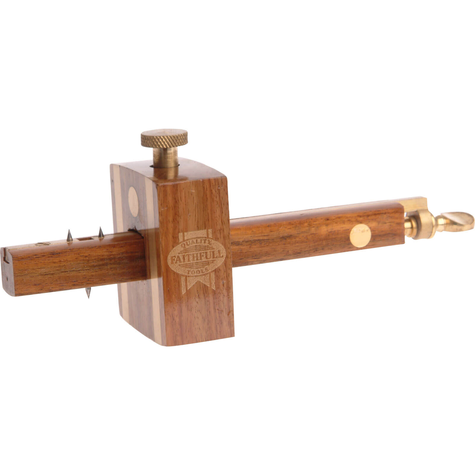 Click to view product details and reviews for Faithfull Rosewood Combination Gauge.