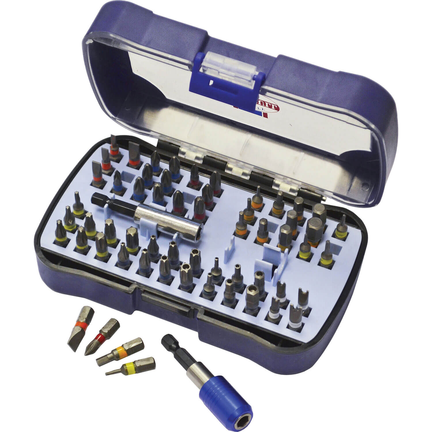 Image of Faithfull 60 Piece Security Screwdriver Bit Set