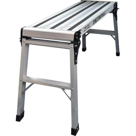 Image of Faithfull Aluminium 2 Step Hop Up Work Platform