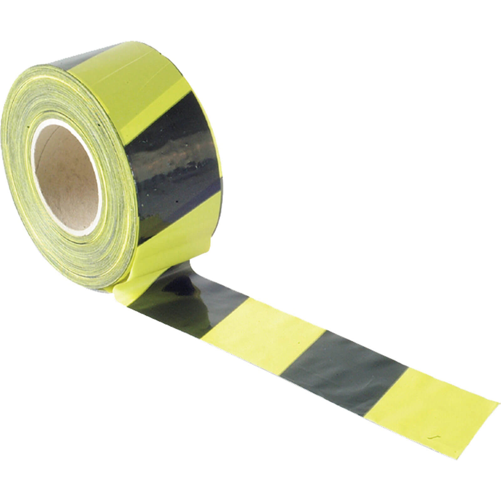 Image of Sirius Adhesive Hazard Warning Tape Black / Yellow 50mm 33m