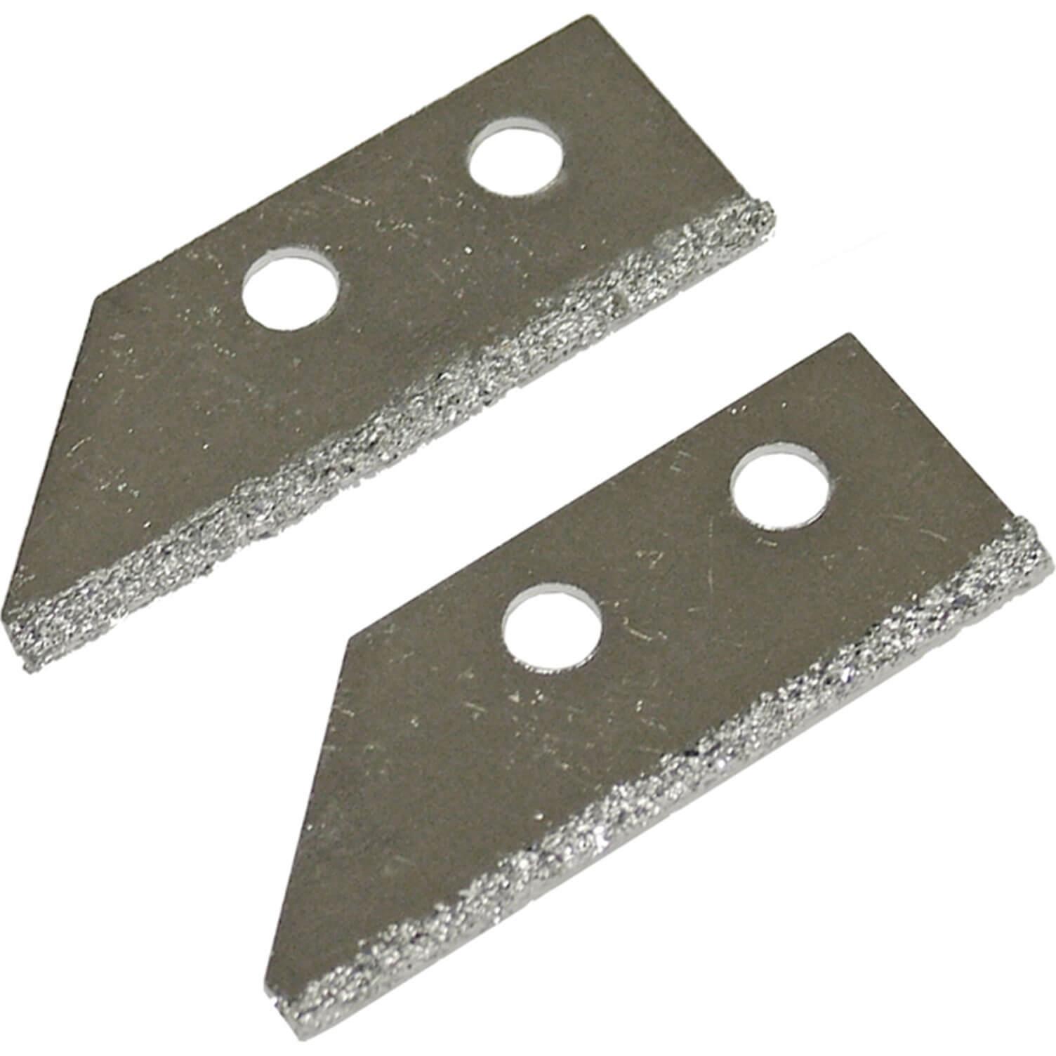 Image of Faithfull Carbide Tile Grout Rake Blades