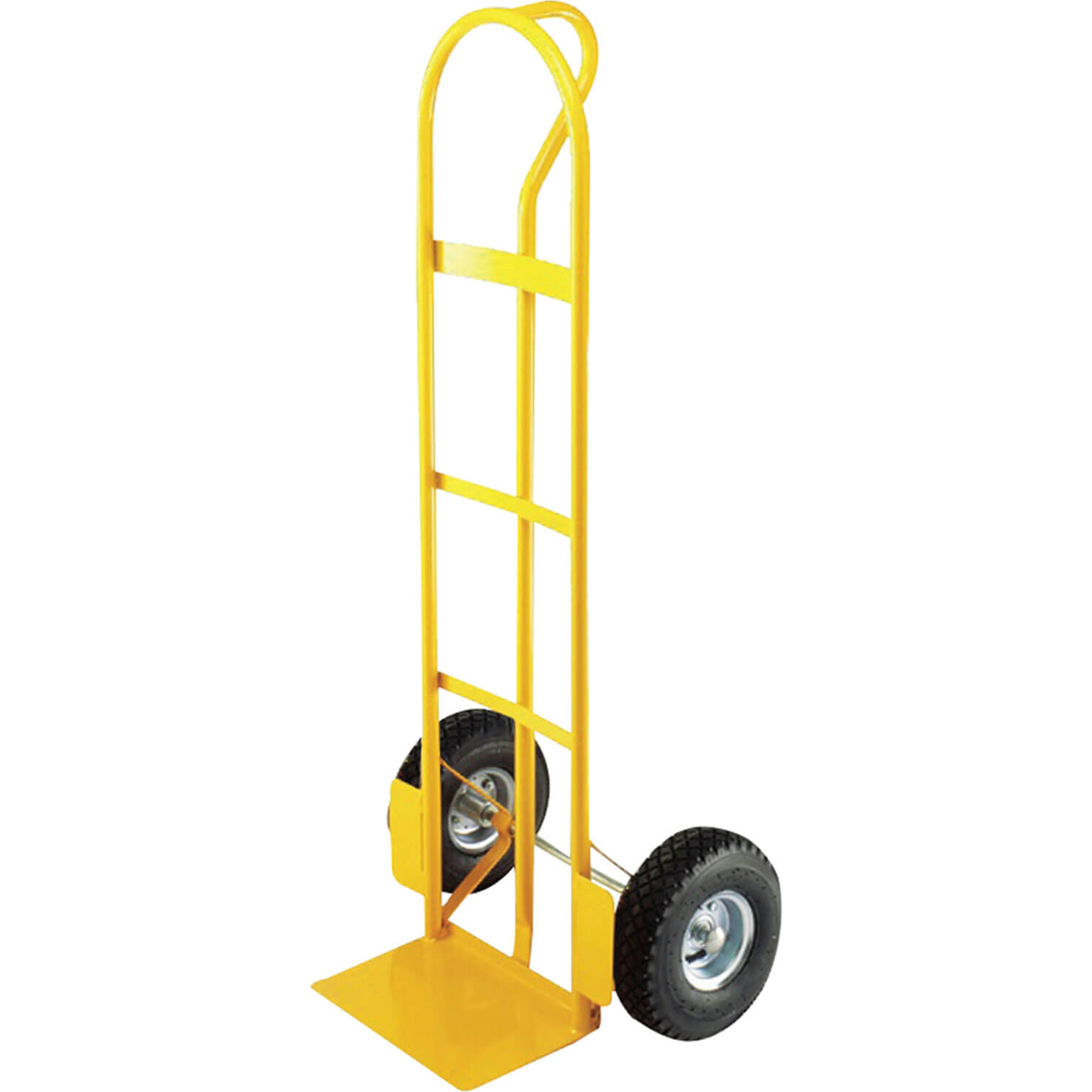 Faithfull Pneumatic Tyres Lift Truck Trolley