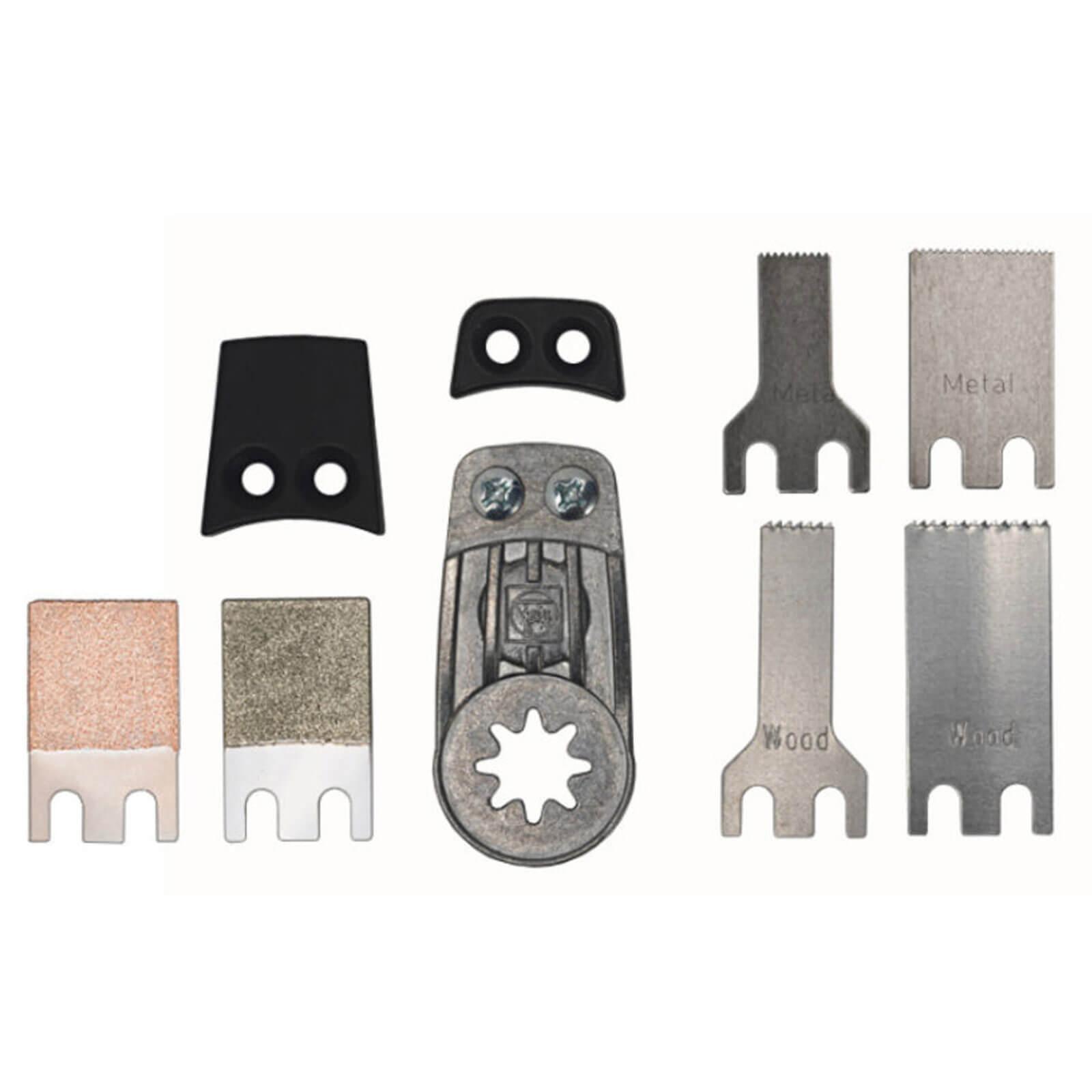 Image of Fein 9 Piece Mini Multi Tool Blade & File Set