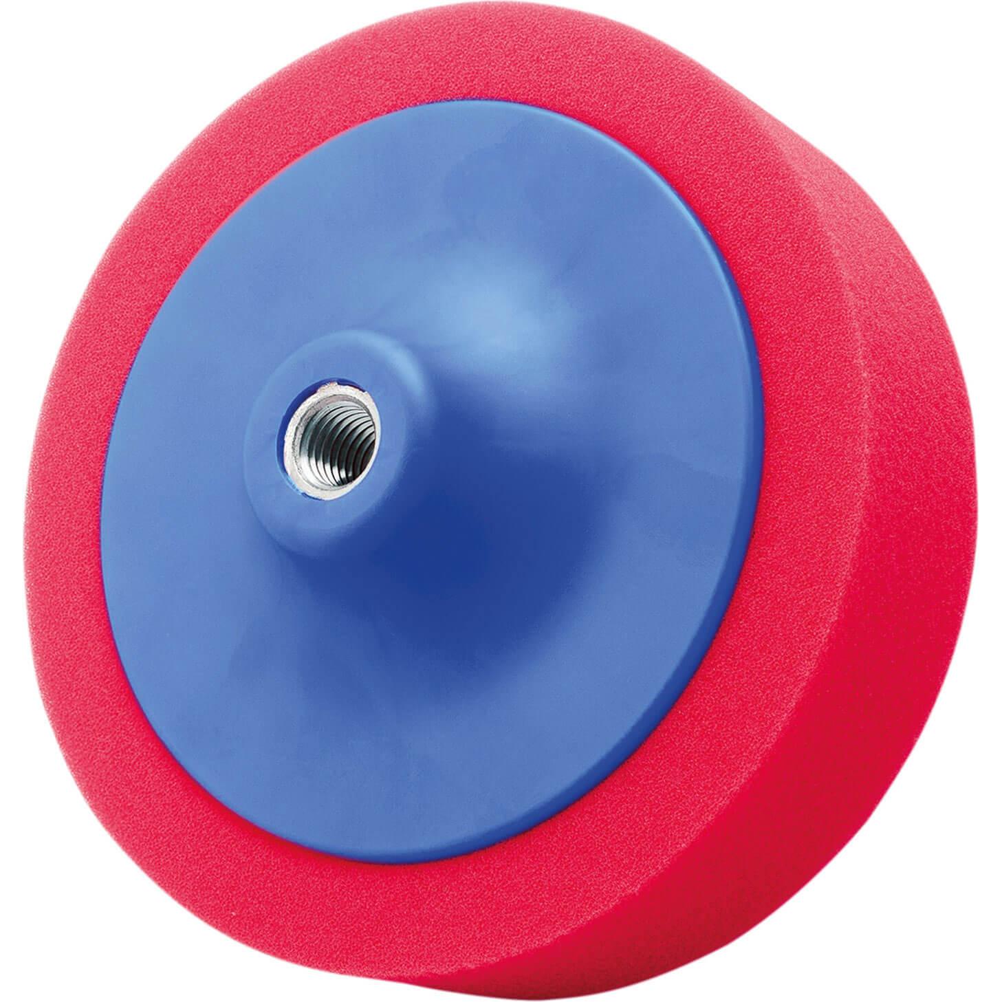 Flexipads World Class Red Polishing Foam 5/8 Unc 150mm