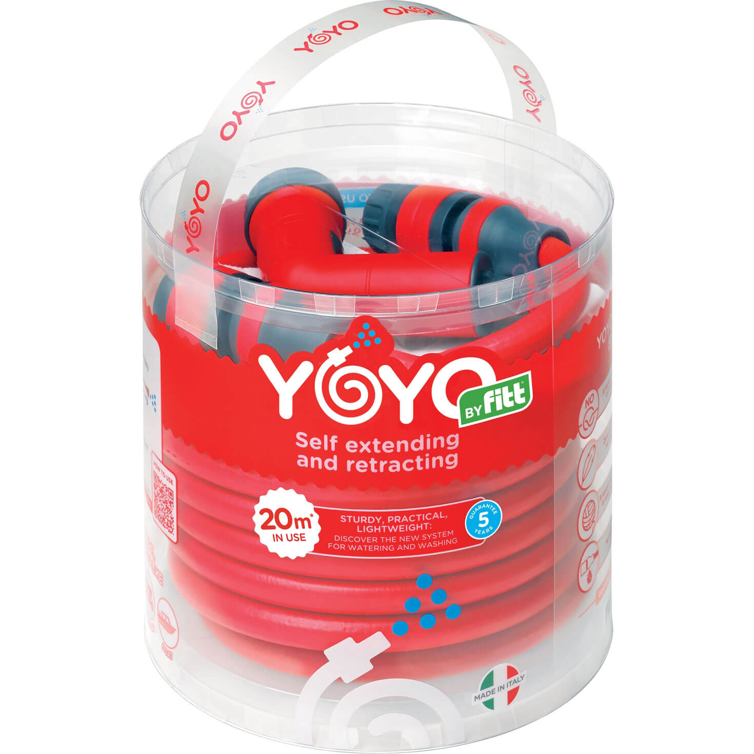 "Image of YOYO Garden Hose Pipe 1/2"" / 12.5mm 20m"